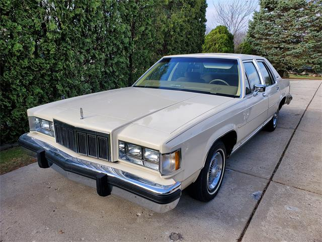 1982 Mercury Grand Marquis (CC-1462322) for sale in HOWELL, Michigan