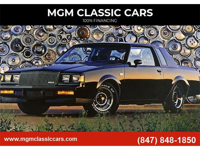 1987 Buick Grand National (CC-1462371) for sale in Addison, Illinois