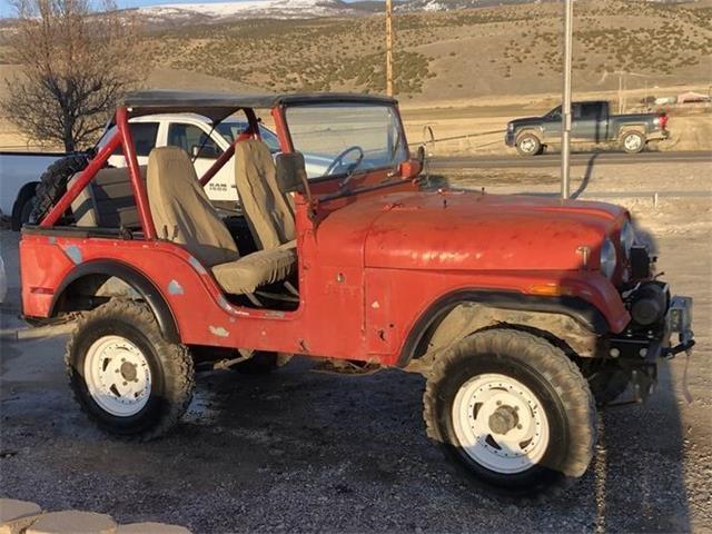 1974 Jeep CJ5 (CC-1462440) for sale in Cadillac, Michigan
