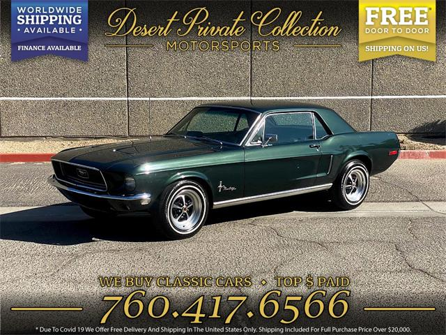 1968 Ford Mustang (CC-1462454) for sale in Palm Desert , California