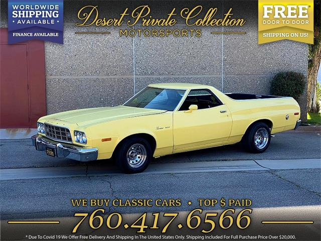 1973 Ford Ranchero 500 (CC-1462461) for sale in Palm Desert , California