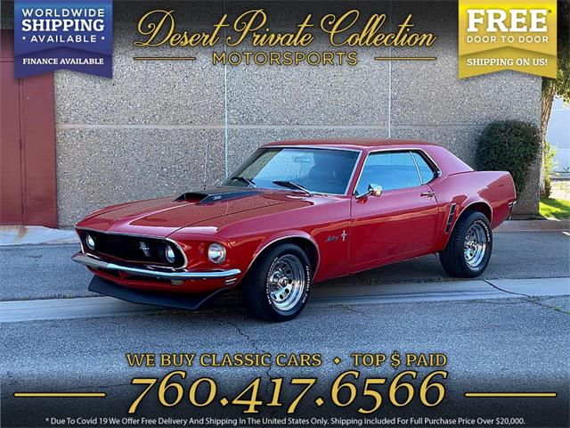 1969 Ford Mustang (CC-1462463) for sale in Palm Desert , California