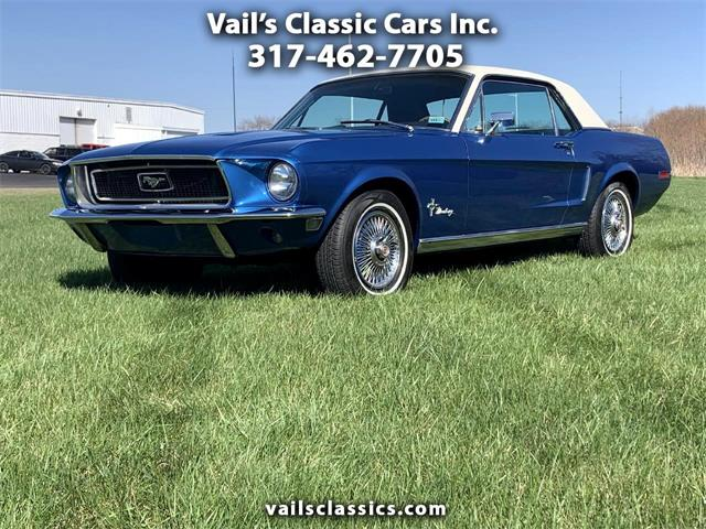 1968 Ford Mustang (CC-1462474) for sale in Greenfield, Indiana