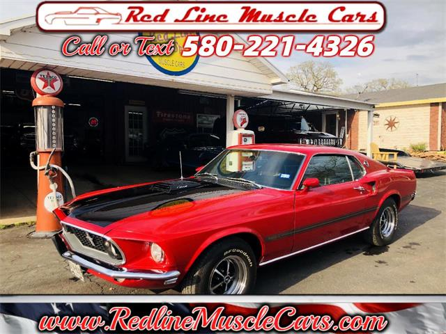 1969 Ford Mustang (CC-1462502) for sale in Wilson, Oklahoma
