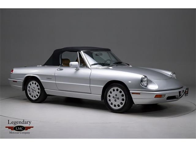 1991 Alfa Romeo 2000 Spider Veloce (CC-1462576) for sale in Halton Hills, Ontario