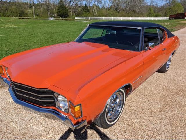 1972 Chevrolet Malibu (CC-1462596) for sale in Cadillac, Michigan