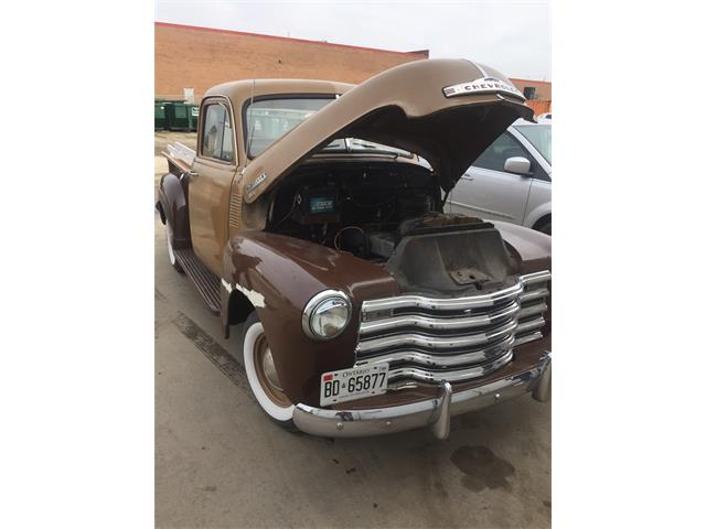 1952 Chevrolet 3100 (CC-1462642) for sale in Mississauga, Ontario