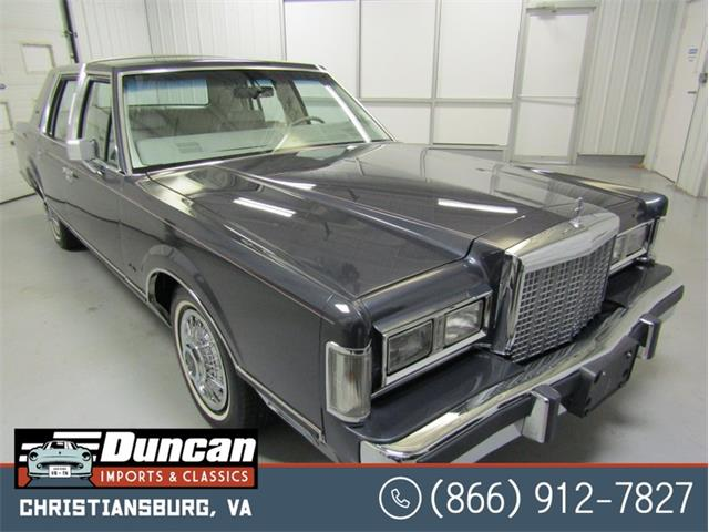 1985 Lincoln Town Car (CC-1462718) for sale in Christiansburg, Virginia