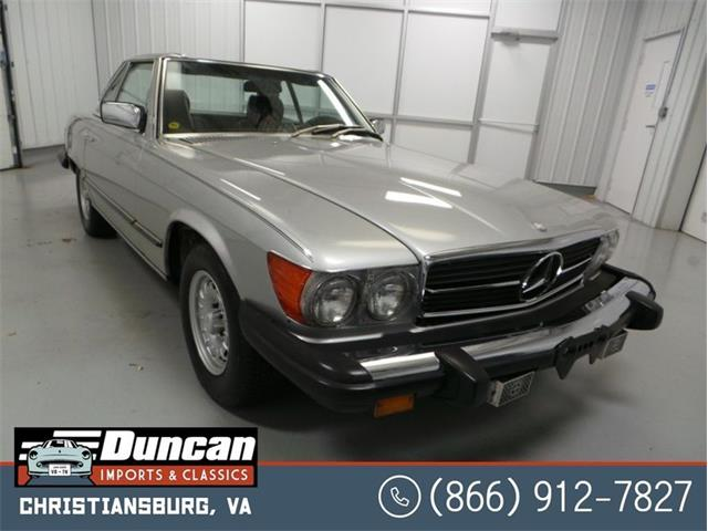 1982 Mercedes-Benz 380 (CC-1462719) for sale in Christiansburg, Virginia