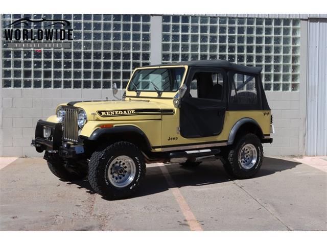 1976 Jeep CJ (CC-1462741) for sale in Denver , Colorado
