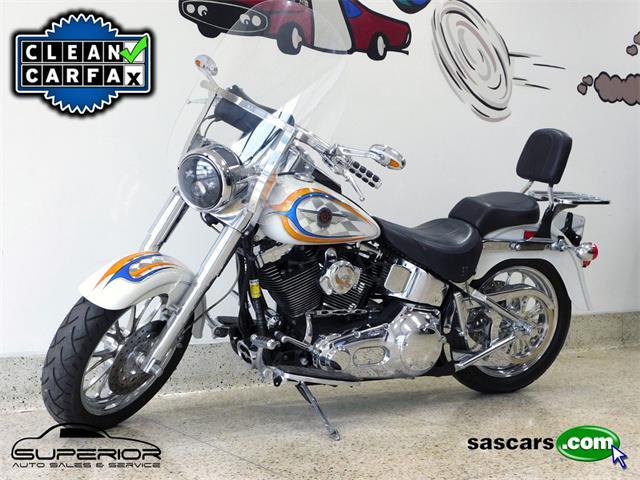 2001 Harley-Davidson FLSTFI (CC-1462762) for sale in Hamburg, New York