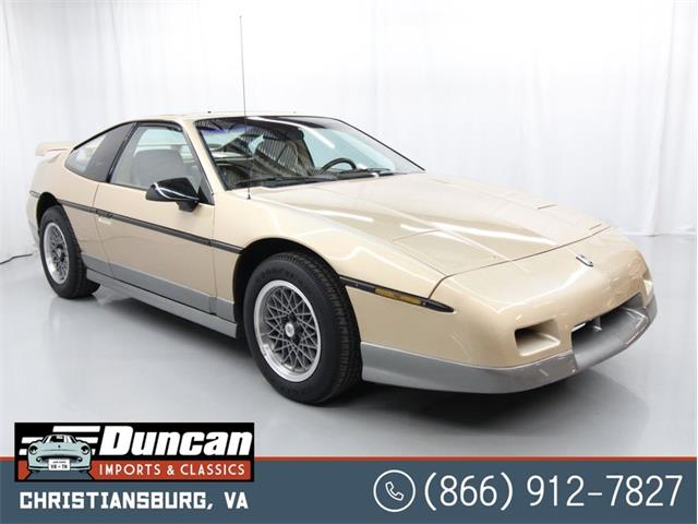 1987 Pontiac Fiero (CC-1462774) for sale in Christiansburg, Virginia
