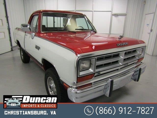 1989 Dodge Ram (CC-1462778) for sale in Christiansburg, Virginia