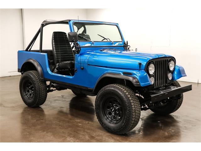 1981 Jeep Wrangler (CC-1462896) for sale in Sherman, Texas