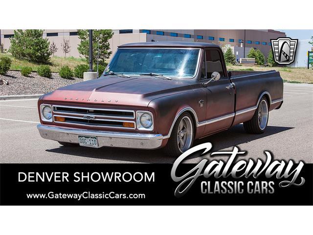1967 Chevrolet C10 (CC-1463136) for sale in O'Fallon, Illinois
