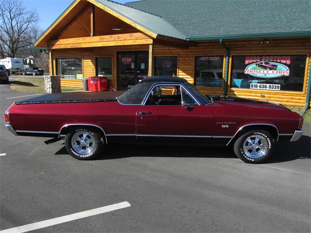 1972 Chevrolet El Camino SS (CC-1460319) for sale in Goodrich, Michigan