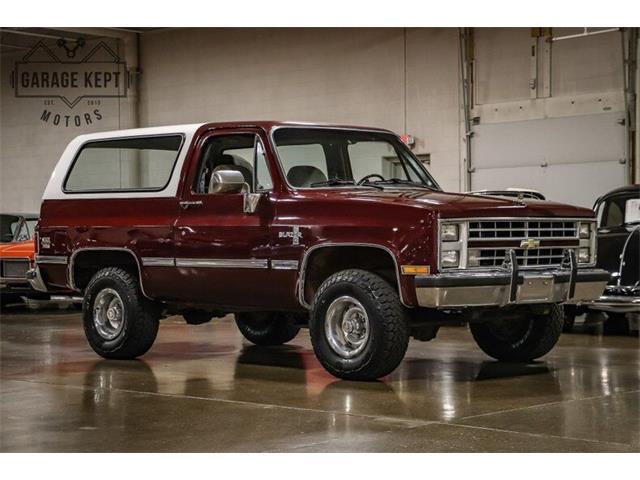 1986 Chevrolet Blazer (CC-1463201) for sale in Grand Rapids, Michigan
