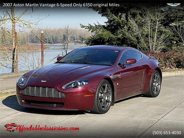 2007 Aston Martin Vantage (CC-1463276) for sale in Gladstone, Oregon