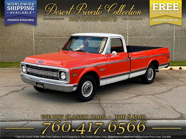 1970 Chevrolet C10 (CC-1463316) for sale in Palm Desert , California
