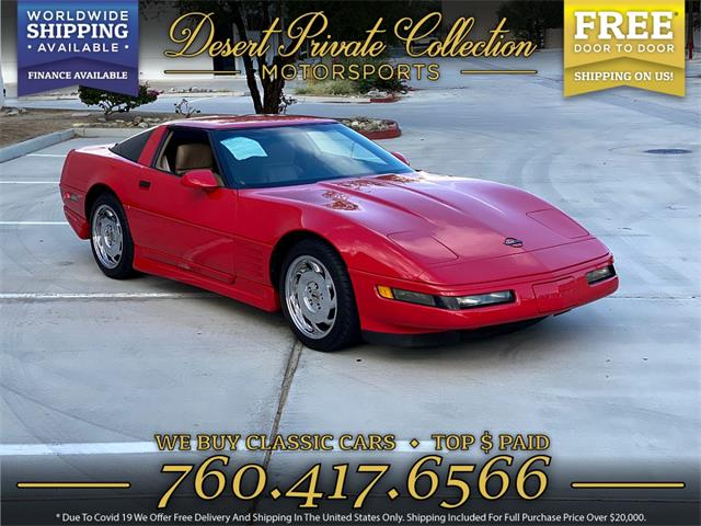1992 Chevrolet Corvette (CC-1463332) for sale in Palm Desert , California