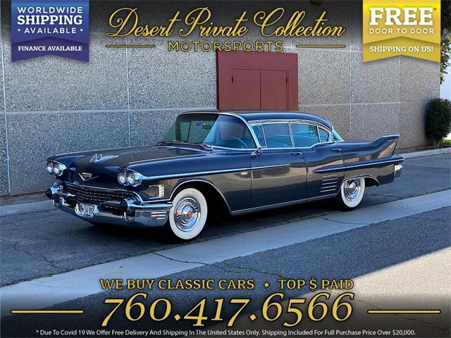1958 Cadillac Series 62 (CC-1463334) for sale in Palm Desert , California