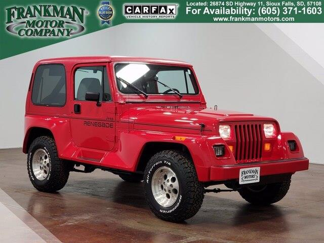 1991 Jeep Wrangler (CC-1463395) for sale in Sioux Falls, South Dakota