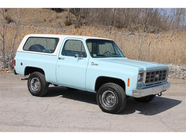 1977 Chevrolet Blazer (CC-1463421) for sale in Fort Wayne, Indiana
