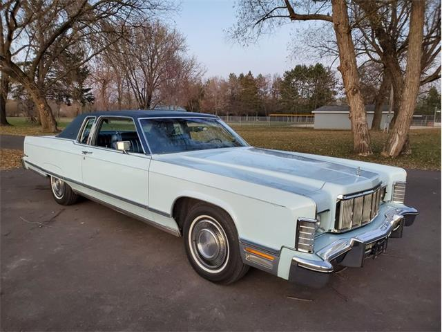 1975 Lincoln Continental (CC-1463486) for sale in Stanley, Wisconsin
