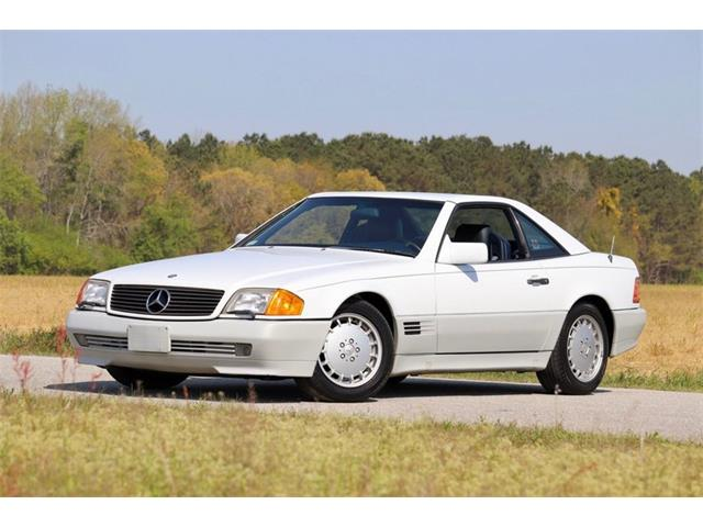 1990 Mercedes-Benz 320SL (CC-1463700) for sale in Youngville, North Carolina