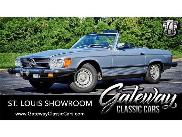 1982 Mercedes-Benz 380SL (CC-1463837) for sale in O'Fallon, Illinois