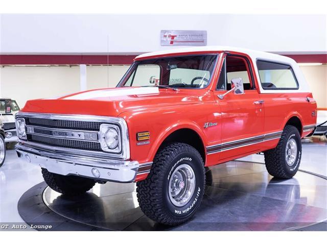 1969 Chevrolet Blazer (CC-1463839) for sale in Rancho Cordova, California