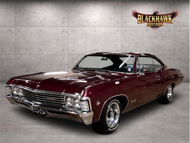 1967 Chevrolet Impala (CC-1463844) for sale in Gurnee, Illinois
