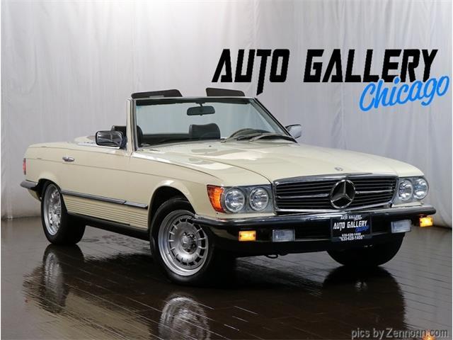 1981 Mercedes-Benz 380SL (CC-1460392) for sale in Addison, Illinois