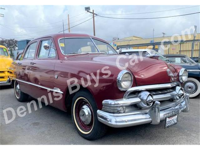 1951 Ford Custom (CC-1463929) for sale in LOS ANGELES, California