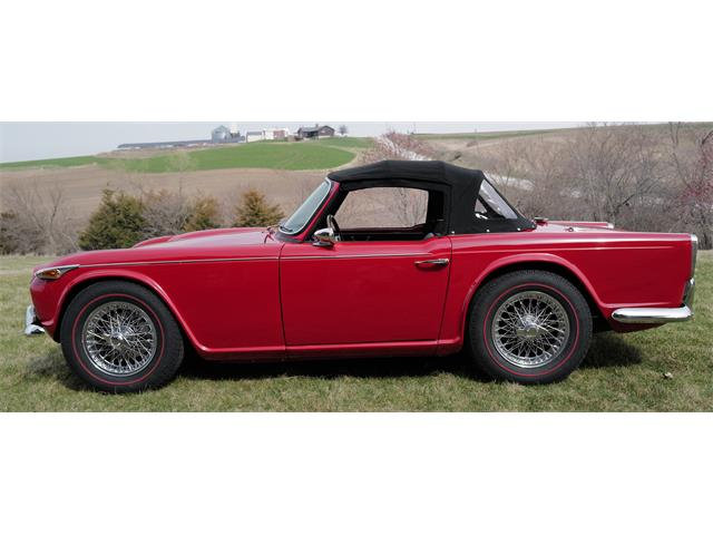 1966 Triumph TR4 (CC-1463932) for sale in Grinnell, Iowa