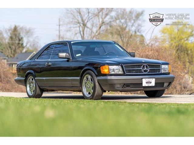 1985 Mercedes-Benz 500SEC (CC-1464055) for sale in Milford, Michigan
