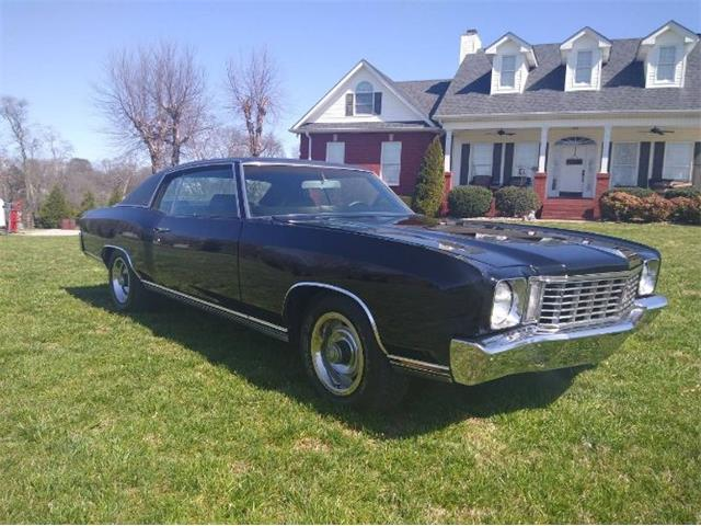 1972 Chevrolet Monte Carlo (CC-1464103) for sale in Cadillac, Michigan