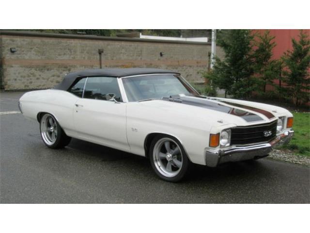 1972 Chevrolet Chevelle (CC-1464121) for sale in Cadillac, Michigan