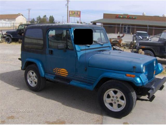 1991 Jeep Wrangler (CC-1464130) for sale in Cadillac, Michigan