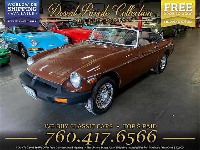 1980 MG MGB (CC-1464199) for sale in Palm Desert , California