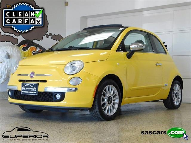 2012 Fiat 500c (CC-1464360) for sale in Hamburg, New York