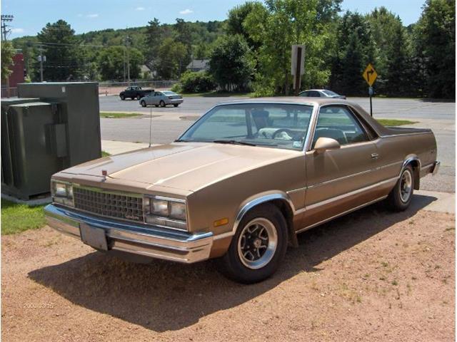 1987 GMC Caballero (CC-1464437) for sale in Cadillac, Michigan