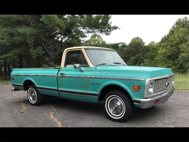 1972 Chevrolet C/K 10 (CC-1460445) for sale in Harpers Ferry, West Virginia