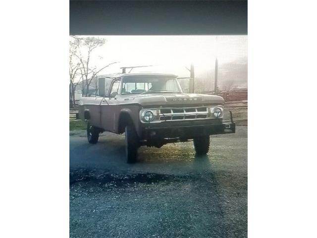 1968 Dodge Pickup (CC-1464452) for sale in Cadillac, Michigan