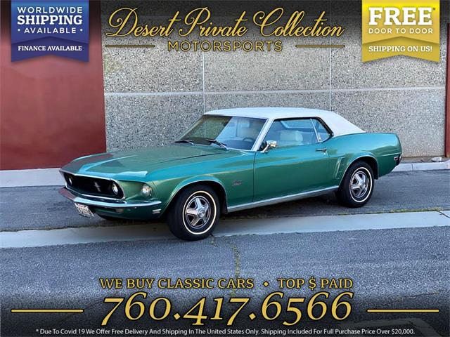 1969 Ford Mustang (CC-1464511) for sale in Palm Desert , California