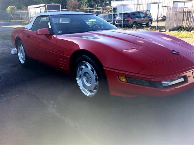 1992 Chevrolet Corvette (CC-1464530) for sale in Greenville, North Carolina
