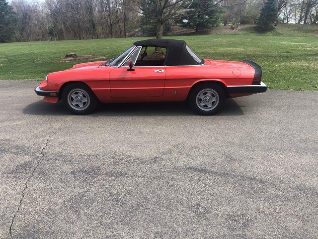 1984 Alfa Romeo 2000 Spider Veloce (CC-1464553) for sale in Carlisle, Pennsylvania