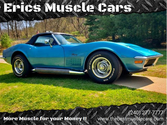 1970 Chevrolet Corvette (CC-1464709) for sale in Clarksburg, Maryland