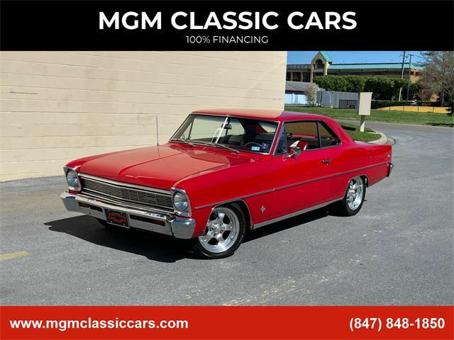 1966 Chevrolet Nova (CC-1464797) for sale in Addison, Illinois