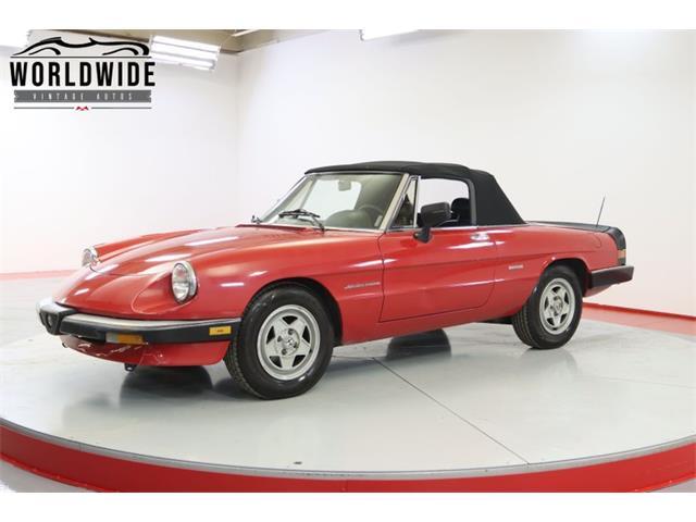 1986 Alfa Romeo Spider (CC-1464998) for sale in Denver , Colorado